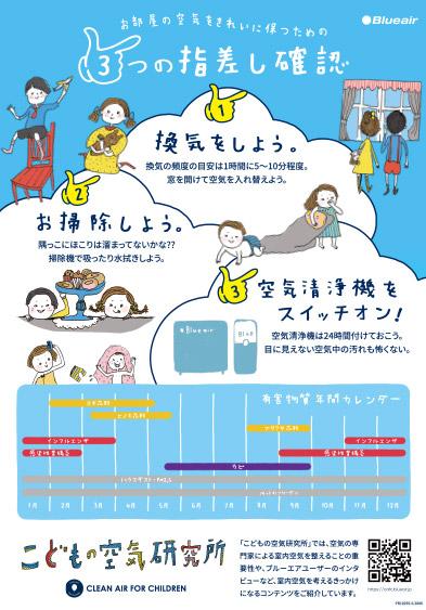 こどもの空気研究所ポスター